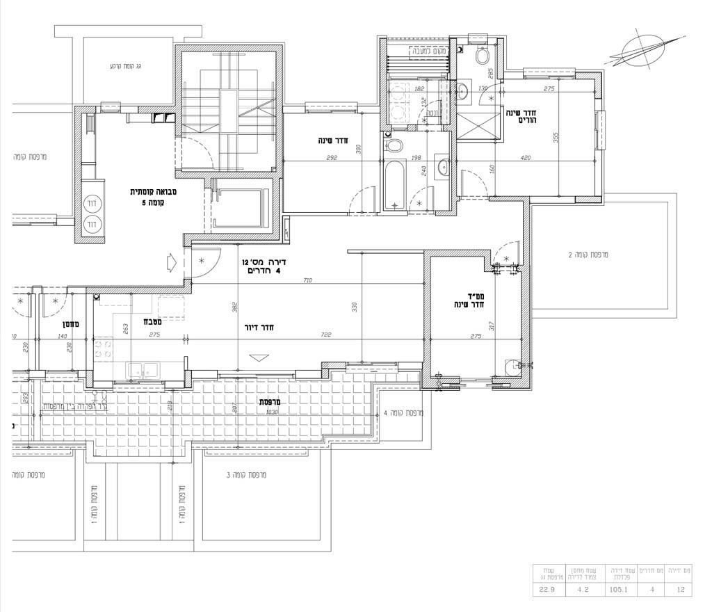 תכנית דירה 12