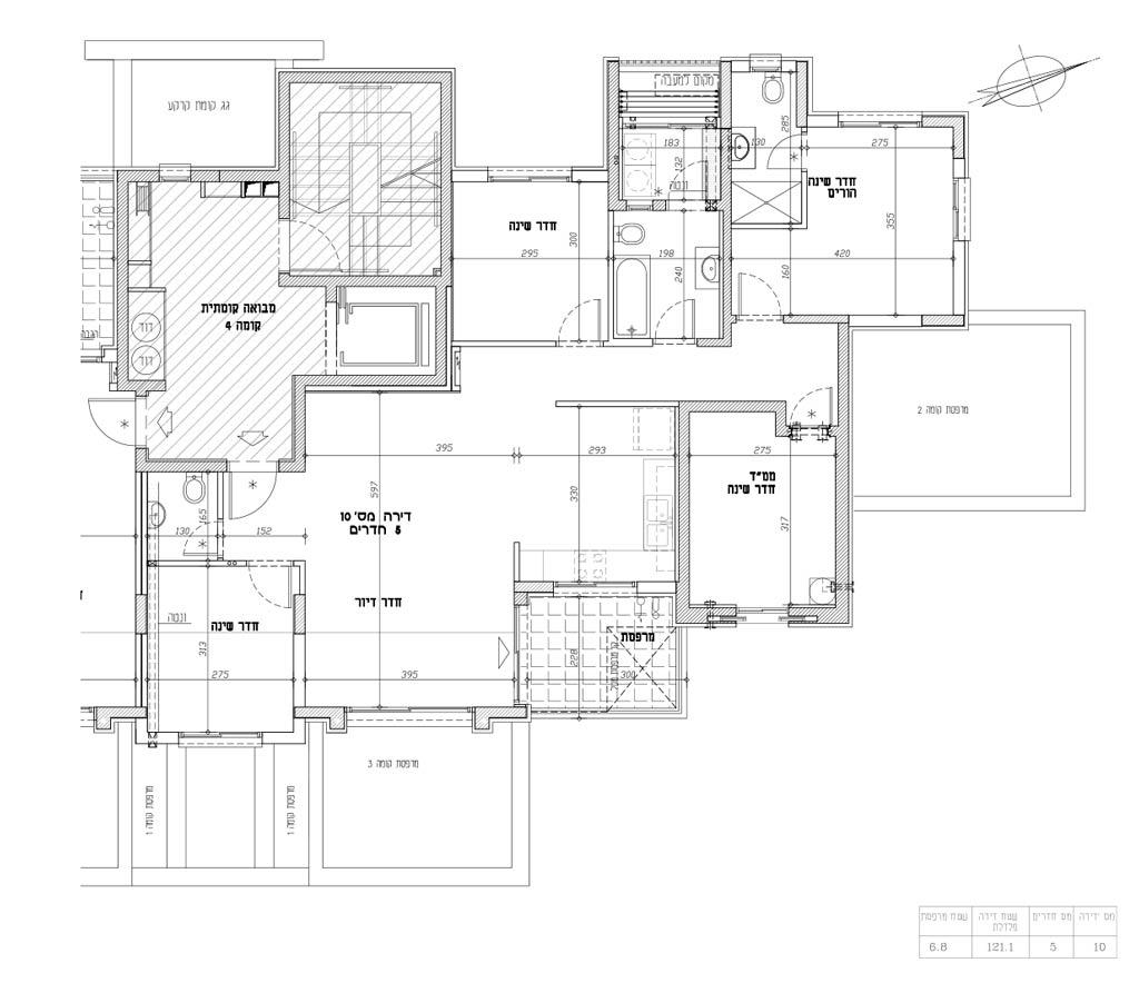 תכנית דירה 10