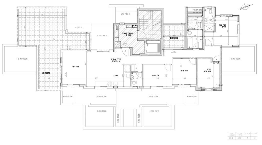 תכנית דירה 13