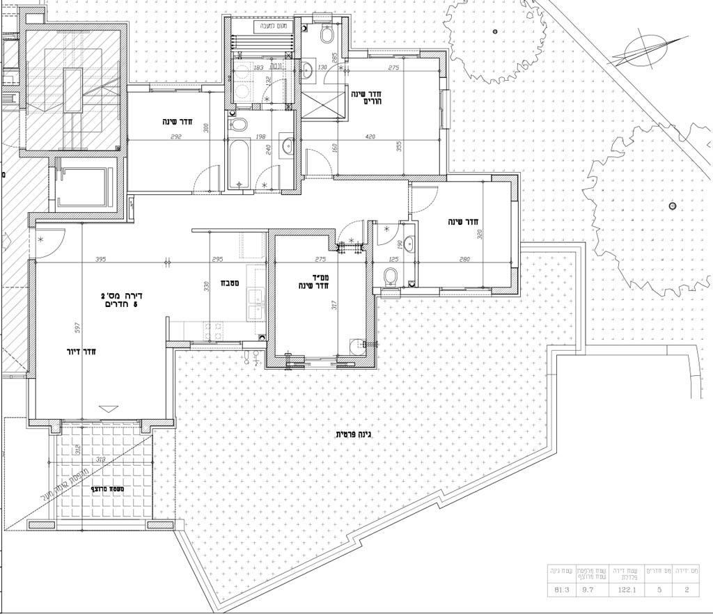 תכנית דירה 2