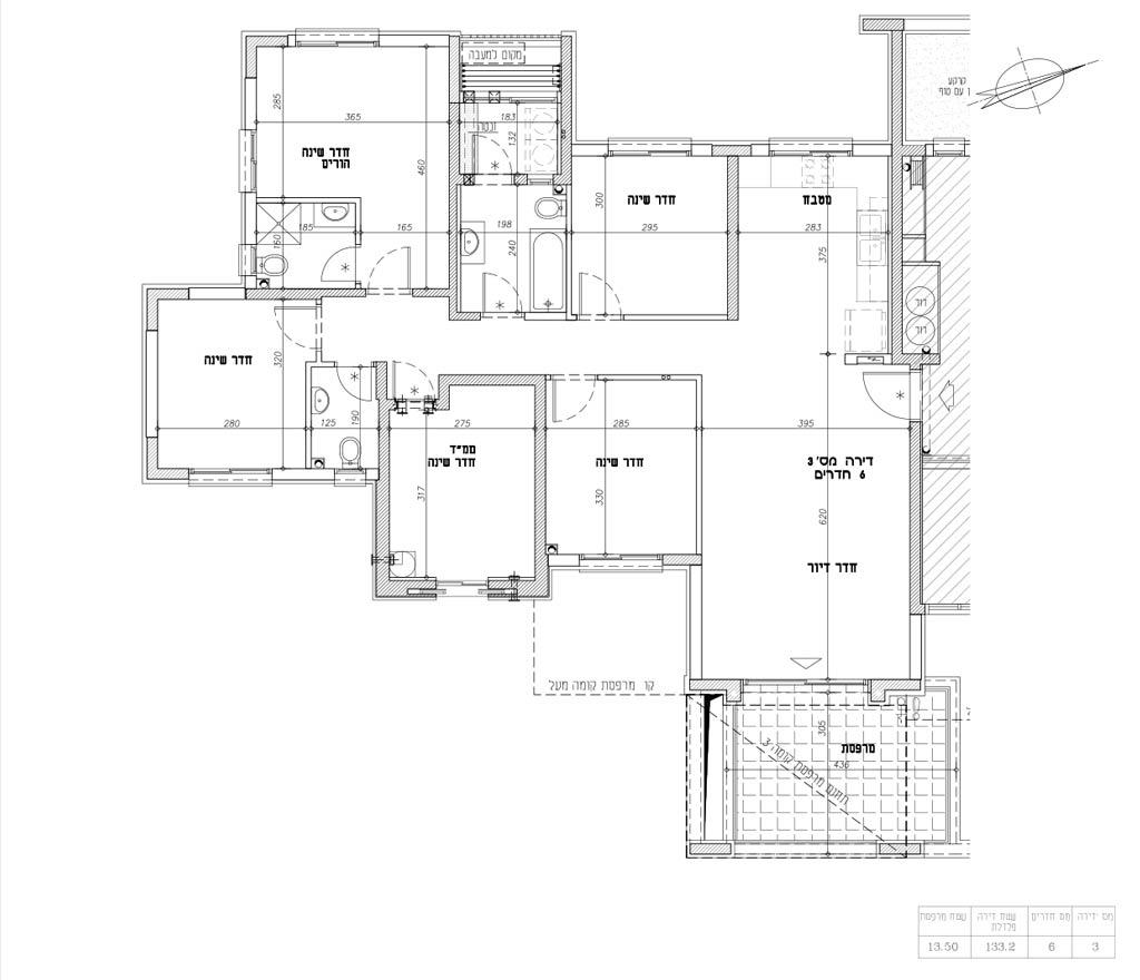 תכנית דירה 3