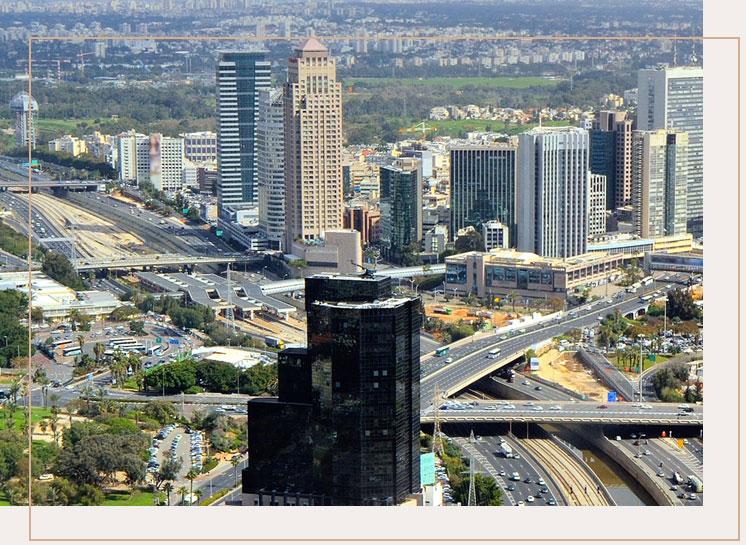 בנין קרדן בנוף תל אביב